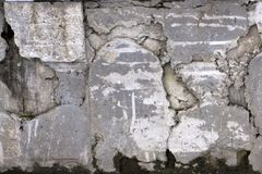 Ο χάλυβας καθαρός για προστατεύει τη φωτογραφική διαφάνεια βράχου πέτρα με το καθαρό υπόβαθρο μετάλλων Στοκ Φωτογραφίες