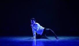 Ο χαμένος χορός πρόσωπο-πανεπιστημιουπόλεων Στοκ εικόνα με δικαίωμα ελεύθερης χρήσης