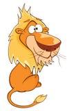 ο χαρακτήρας κινουμένων σχεδίων χαριτωμένος έχει τις χρήσεις λιονταριών διάφορες Στοκ Φωτογραφίες