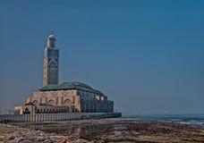 Ο Χασάν ΙΙ μουσουλμανικό τέμενος, στη Καζαμπλάνκα στοκ φωτογραφίες