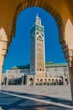 Ο Χασάν ΙΙ μουσουλμανικό τέμενος, Καζαμπλάνκα Στοκ Εικόνες