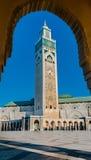 Ο Χασάν ΙΙ μουσουλμανικό τέμενος, Καζαμπλάνκα Στοκ Φωτογραφία
