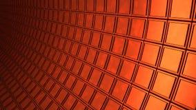 Ο χαλκός κυβίζει το υπόβαθρο τοίχων Στοκ φωτογραφία με δικαίωμα ελεύθερης χρήσης