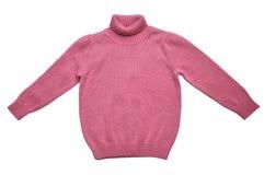 Ο χειμώνας πλέκει το πουλόβερ Στοκ Εικόνες