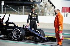 Ο χειμώνας Formula 1 εξετάζει το 2019 στοκ φωτογραφία με δικαίωμα ελεύθερης χρήσης