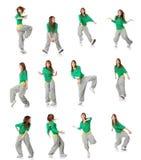 ο χορευτής σύγχρονος θέ&tau στοκ εικόνες