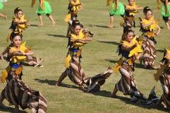 Ο χορός ανεμιστήρων Στοκ εικόνα με δικαίωμα ελεύθερης χρήσης