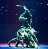 Ο χορός ανιχνεύω-στρατιωτικών Στοκ φωτογραφία με δικαίωμα ελεύθερης χρήσης