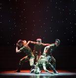 Ο χορός ανιχνεύω-στρατιωτικών Στοκ εικόνα με δικαίωμα ελεύθερης χρήσης