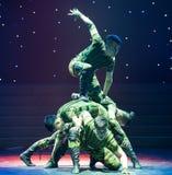 Ο χορός ανιχνεύω-στρατιωτικών Στοκ Εικόνες