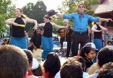 ο χορός επικολλά την απόδ&omi στοκ εικόνα