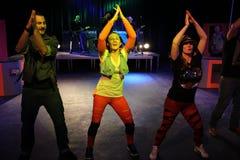 Ο χορός παρουσιάζει σε ένα ξενοδοχείο λεσχών Στοκ Φωτογραφίες