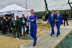 Ο χορός παρουσιάζει στα παιχνίδια στρατού Tyumen Ρωσία Στοκ εικόνες με δικαίωμα ελεύθερης χρήσης