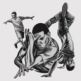 Ο χορός των β-αγοριών σε δυναμικό θέτει απεικόνιση αποθεμάτων
