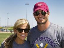 Ο Χριστιανός στρατηγών NFL Minnesota Vikings συλλογίζεται Στοκ φωτογραφία με δικαίωμα ελεύθερης χρήσης