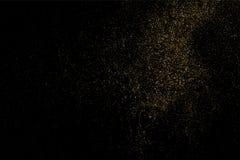 Ο χρυσός ακτινοβολεί διάνυσμα σύστασης Στοκ Φωτογραφία