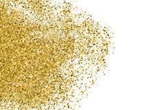 Ο χρυσός ακτινοβολεί σύσταση στοκ φωτογραφία με δικαίωμα ελεύθερης χρήσης