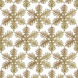 Ο χρυσός ακτινοβολεί Snowflake ανασκόπηση Στοκ φωτογραφία με δικαίωμα ελεύθερης χρήσης