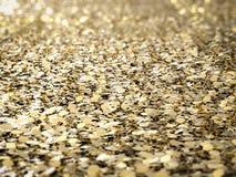 Ο χρυσός ακτινοβολεί υπόβαθρο Στοκ Εικόνα
