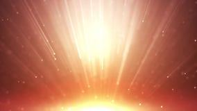 Ο χρυσός αστεριών μορίων ακτινοβολεί με το χρυσό αστεριών μορίων ακτινοβολεί με το ελαφρύ awa ακτίνων απεικόνιση αποθεμάτων