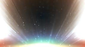 Ο χρυσός αστεριών μορίων ακτινοβολεί με το χρυσό αστεριών μορίων ακτινοβολεί με τα ελαφριά βραβεία ακτίνων ελεύθερη απεικόνιση δικαιώματος