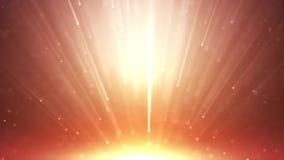 Ο χρυσός αστεριών μορίων ακτινοβολεί με το χρυσό αστεριών μορίων ακτινοβολεί με το φως ακτίνων απεικόνιση αποθεμάτων