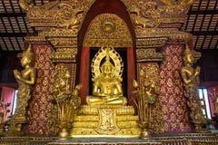 Ο χρυσός Βούδας mai Chiang στο proince Ταϊλάνδη στοκ εικόνες με δικαίωμα ελεύθερης χρήσης