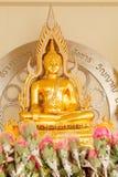 Ο χρυσός Βούδας σε Wat Phasornkaew Επαρχία Phetchabun, Ταϊλάνδη Στοκ εικόνες με δικαίωμα ελεύθερης χρήσης