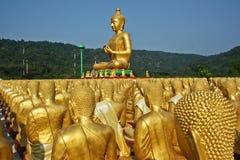 Ο χρυσός Βούδας. Στοκ Εικόνες