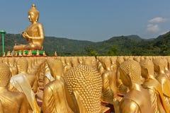 Ο χρυσός Βούδας. Στοκ Φωτογραφία
