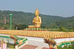 Ο χρυσός Βούδας. Στοκ φωτογραφία με δικαίωμα ελεύθερης χρήσης