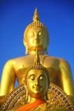 Ο χρυσός Βούδας Στοκ εικόνες με δικαίωμα ελεύθερης χρήσης