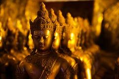 Ο χρυσός Βούδας Στοκ Εικόνα
