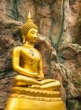 Ο χρυσός Βούδας Στοκ φωτογραφίες με δικαίωμα ελεύθερης χρήσης