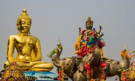 Ο χρυσός Βούδας Στοκ Εικόνες