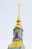 Ο χρυσός θόλος του πύργου κουδουνιών Στοκ Εικόνες