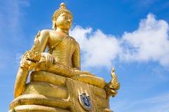 Ο χρυσός μεγάλος Βούδας Phuket Στοκ εικόνα με δικαίωμα ελεύθερης χρήσης