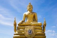 Ο χρυσός μεγάλος Βούδας Phuket Στοκ εικόνες με δικαίωμα ελεύθερης χρήσης