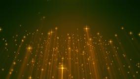 Ο χρυσός μορίων ακτινοβολεί σκόνη βραβείων που το αφηρημένο υπόβαθρο περιτυλίχτηκε απεικόνιση αποθεμάτων