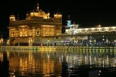 Ο χρυσός ναός σε amritsar Στοκ φωτογραφία με δικαίωμα ελεύθερης χρήσης