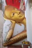 Ο χρυσός ξαπλώνοντας Βούδας Στοκ φωτογραφίες με δικαίωμα ελεύθερης χρήσης