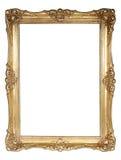 ο χρυσός πλαισίων ανασκόπ&e Στοκ φωτογραφία με δικαίωμα ελεύθερης χρήσης