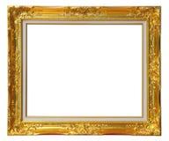 ο χρυσός πλαισίων Στοκ εικόνα με δικαίωμα ελεύθερης χρήσης