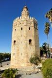 Ο χρυσός πύργος, Σεβίλη, Ισπανία Στοκ Φωτογραφία