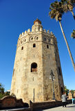 Ο χρυσός πύργος, Σεβίλη, Ισπανία Στοκ Εικόνα