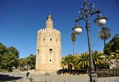 Ο χρυσός πύργος στη Σεβίλη, Ισπανία Στοκ Φωτογραφίες