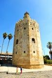 Ο χρυσός πύργος στη Σεβίλη, Ισπανία Στοκ Εικόνες