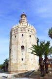 Ο χρυσός πύργος Στοκ Εικόνα