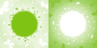 Ο χρόνος άνοιξη… αυξήθηκε φύλλα, φυσική ανασκόπηση Στοκ εικόνα με δικαίωμα ελεύθερης χρήσης
