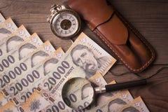 Ο χρόνος είναι έννοια χρημάτων Στοκ Εικόνα